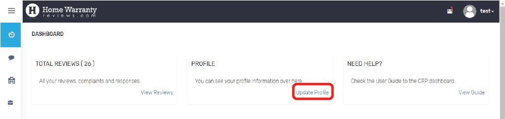 CRP_Update_Profile