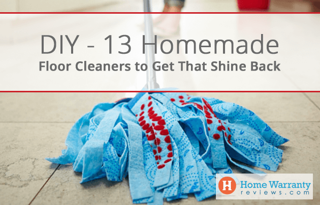 13 Homemade Floor Cleaners to Get That