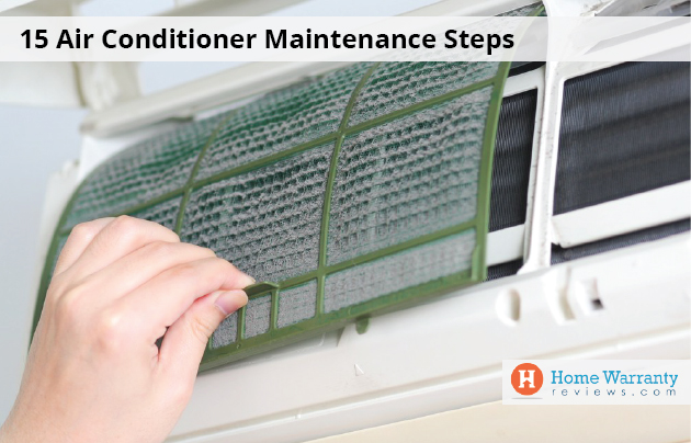 15 Air Conditioner Maintenance Steps