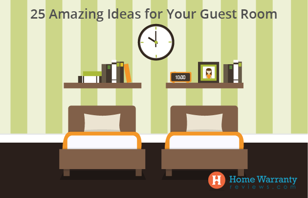 25 Amazing Ideas for Your Guest Room