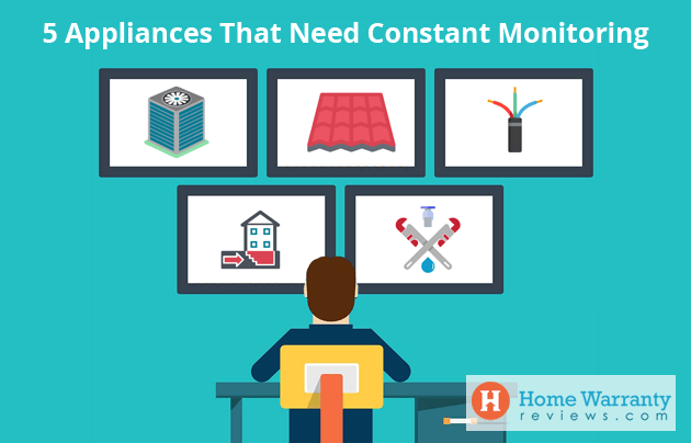 5 Appliances That Need Constant Monitoring