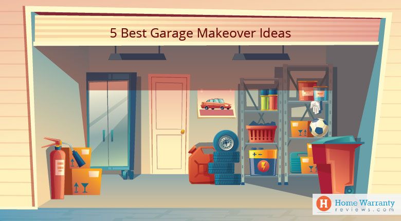 5 Best Garage Makeover Ideas