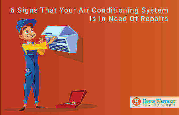 6 Signs That Your Air Conditioning System is Not Working Properly