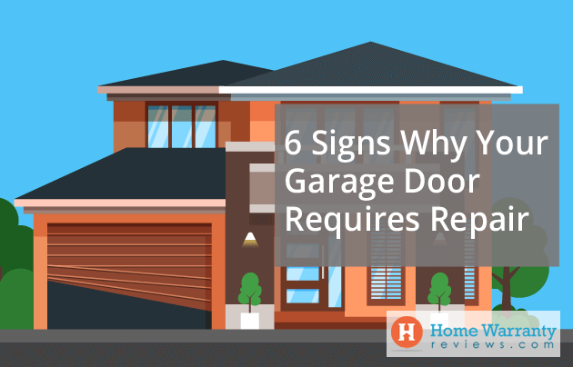 6 Signs Why Your Garage Door Requires Repair