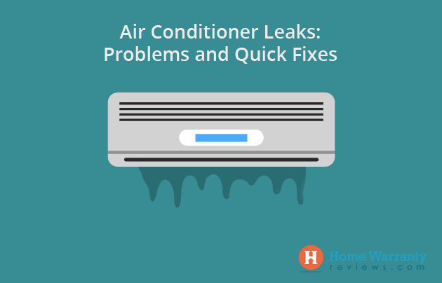 Problems and Quick Fixes for Air Conditioner Leaks
