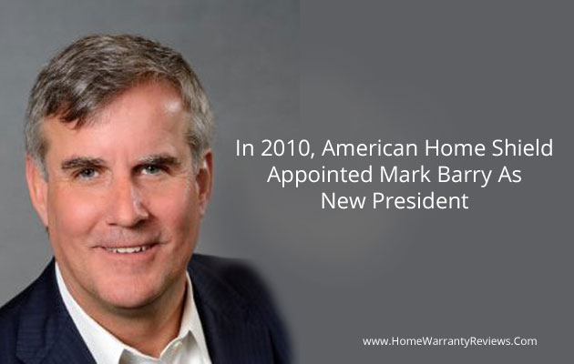 Mark Barry as New President