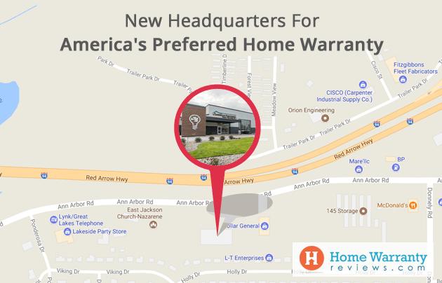 America's Preferred Home Warranty New Headquarters