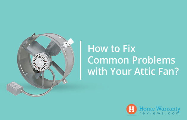 fix attic fan problems