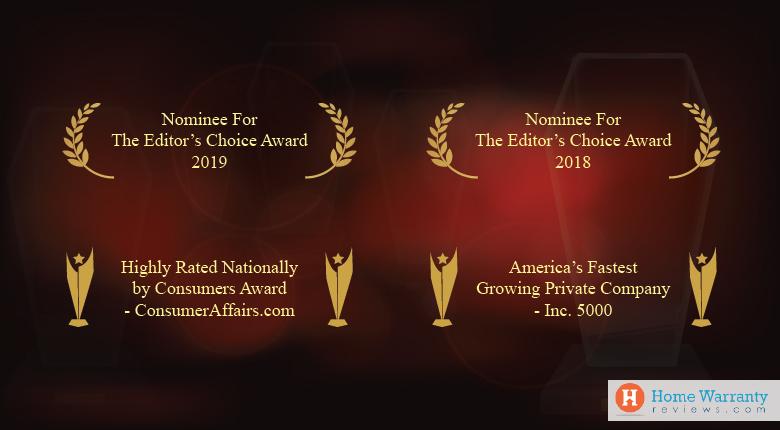 Awards Won by Choice Home Warranty