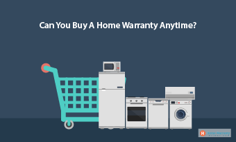 Can you buy a home warranty anytime?