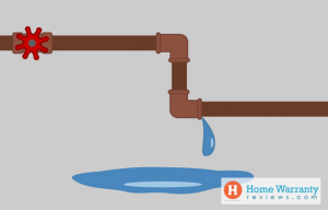 Check for leaking pipes
