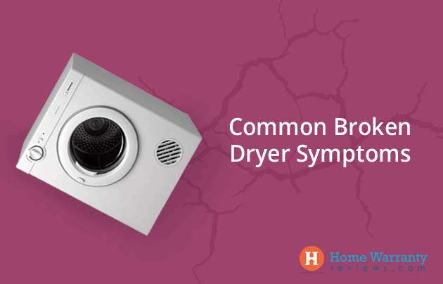 Common Broken Dryer Symptoms