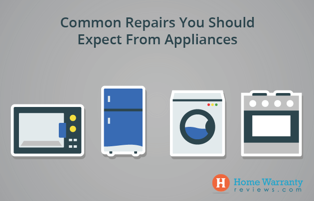 Common Appliance Repairs To Expect