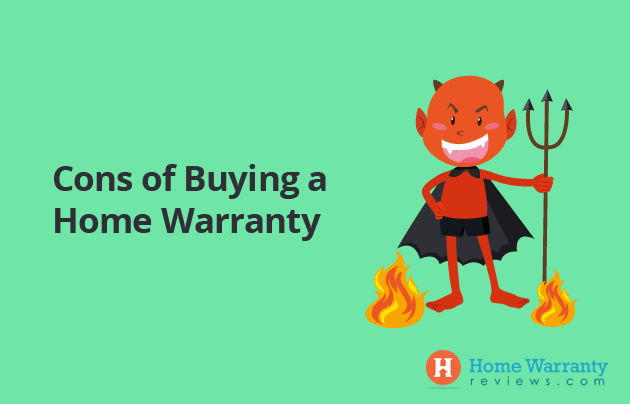 cons of a home warranty