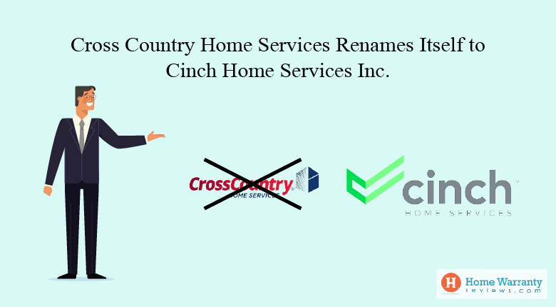 Cross Country Home Services Renames Itself to Cinch Home Services Inc.