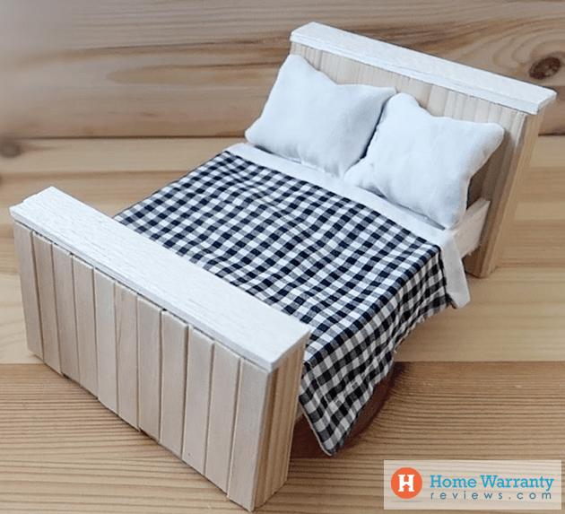 DIY hamster bed