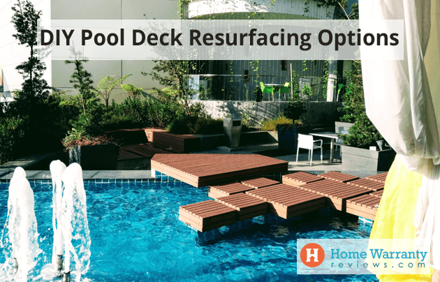 DIY Pool Deck Resurfacing Options