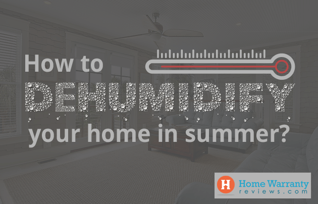 Dehumidifying your home in summer