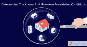 Determining the Known and Unknown Pre-existing Conditions