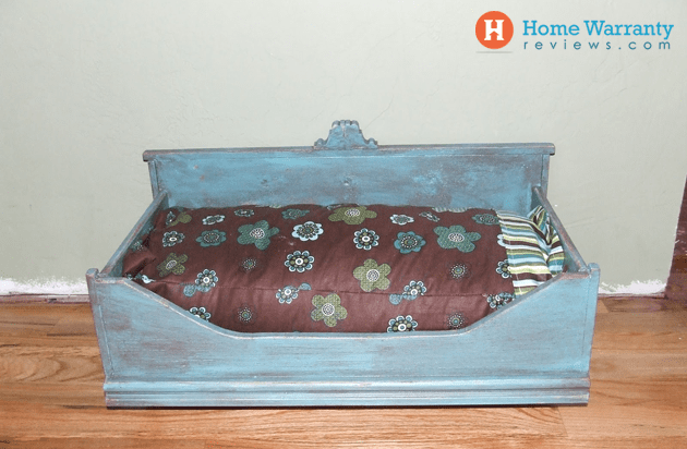 pet beds made out of old furniture