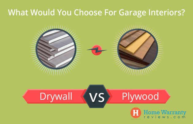 Plywood vs Drywall: What To Choose For Your Garage Wall?