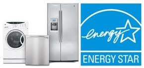 Energy Star certified aplliances