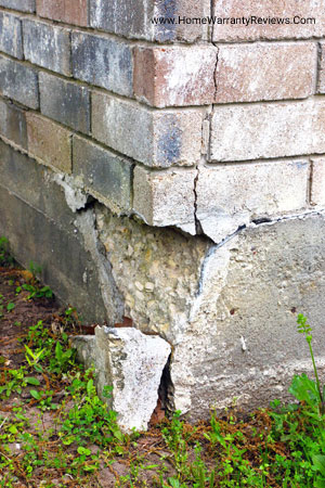 Foundation cracks and how to deal with it if you have a structural warranty