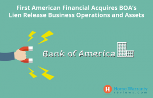First American Financial acquires Bank of America's Lien release operations and assets