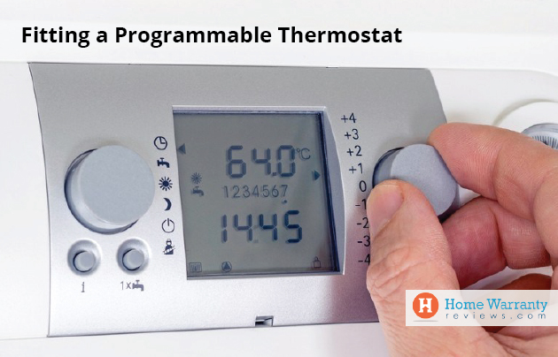 Fitting a Programmable Thermostat
