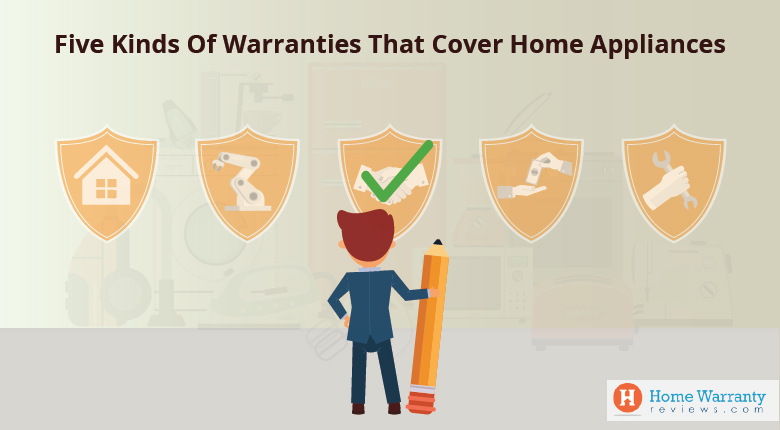 Five Kinds Of Warranties That Cover Home Appliances
