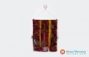 DIY scarf hanging system