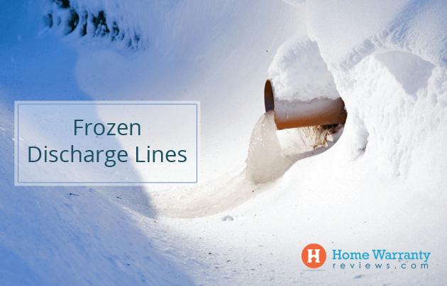 Frozen Discharge Lines