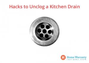 Hacks to unclog kitchen drain