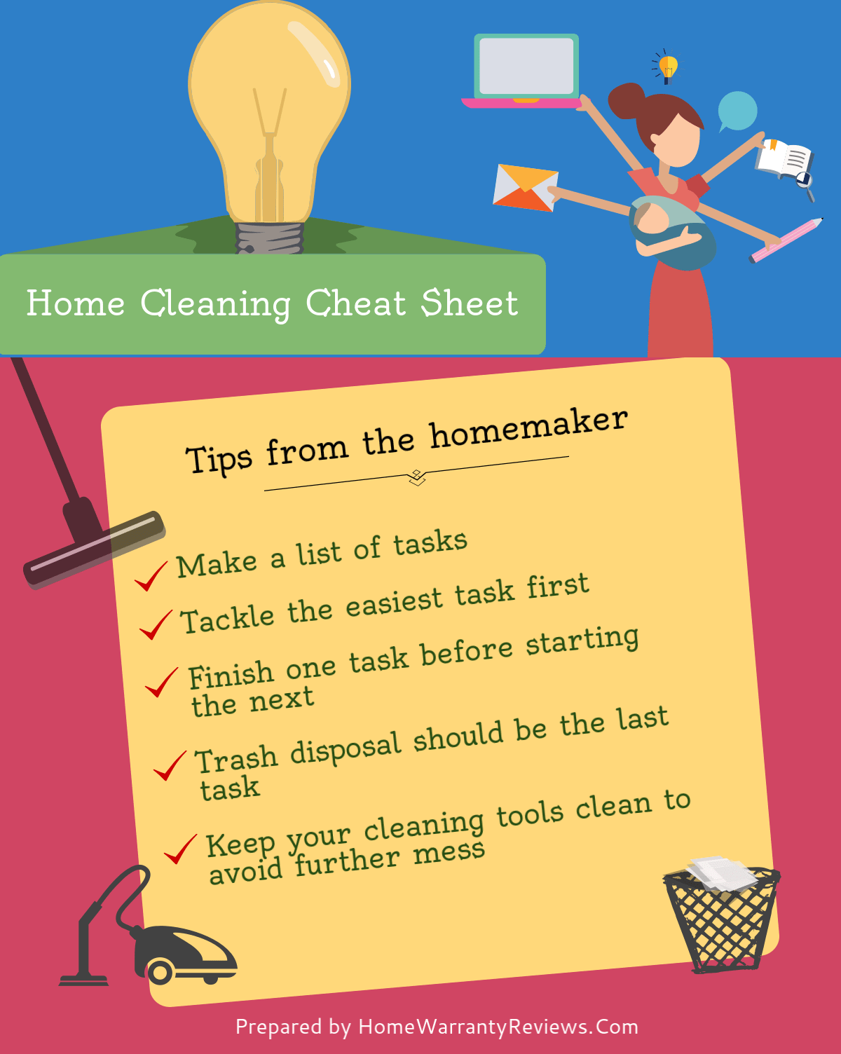 how to clean your house faster