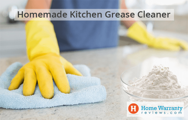 homemade kitchen grease cleaner