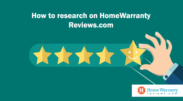 How to research on HomeWarrantyReviews.com?