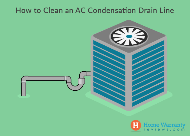 How to Clean an AC Condensation Drain Line?
