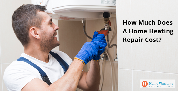 How much does a home heating repair cost?