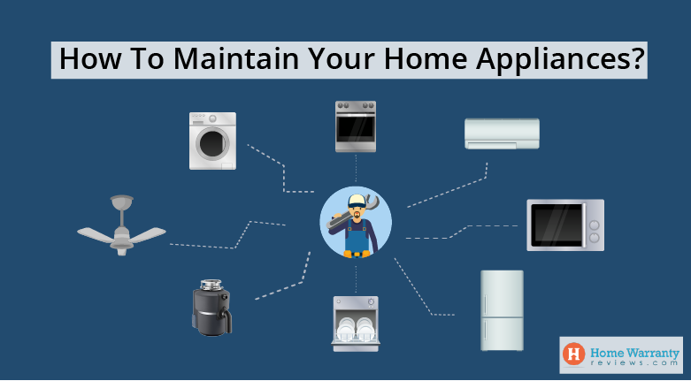 How To Maintain Your Appliances?