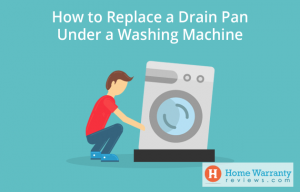 How to Replace a Drain Pan Under a Washing Machine