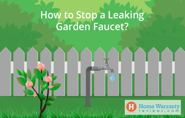 How to Stop a Leaking Garden Faucet?