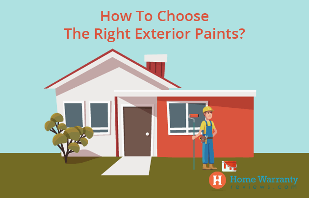 how to choose exterior paint