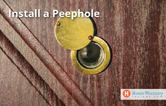 Install a Peephole