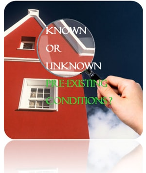 Home warranty pre existing conditions