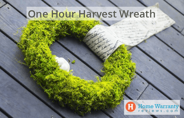 One Hour Harvest Wreath