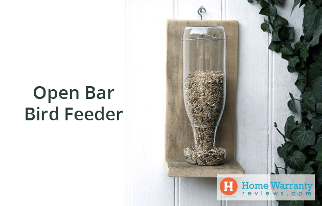 Open Bar Bird Feeder