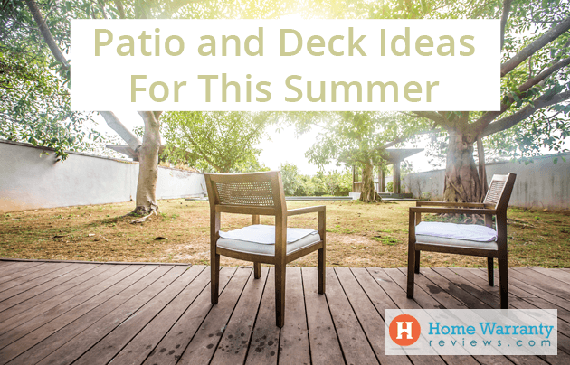 Patio and Deck Ideas For This Summer