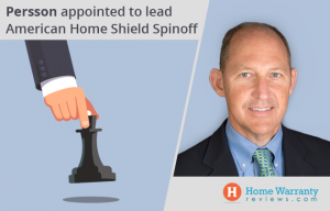Persson appointed to lead American Home Shield Spinoff