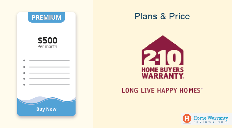Plans Prices 2-10 Home Buyers Warranty