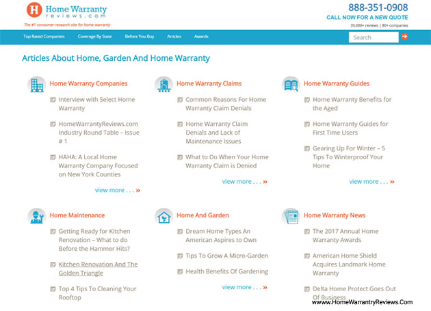 Popular Articles About Home Warranty
